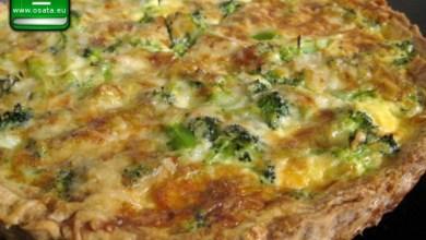 Рецепта за киш с броколи и сметана