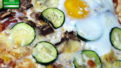 """Рецепта за """"цукини фунги"""" - пица с тиквички и гъби"""