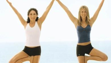 Упражнения за поддържане на топ форма от Дженифър Анистън