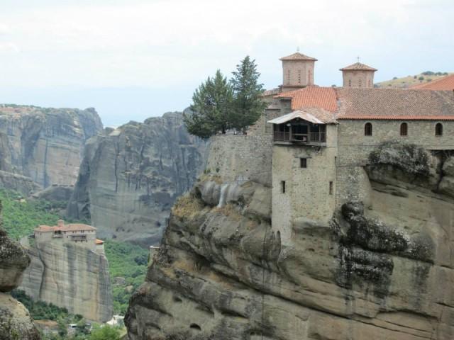 На екскурзия в Гърция, Манастирски комплекс Метеора в Калабака,