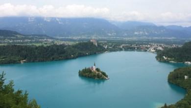 Бохинско езеро в Словения