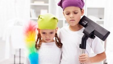 Децата трябва да имат домакински задължения