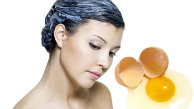 Маска за коса с яйце