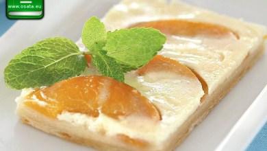 Рецепта за лесен сладкиш с праскови и бутер тесто