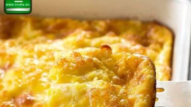 Рецепта за мързелива баница с хляб и сирене