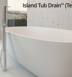 island tub drain testable rough in  [ 1680 x 850 Pixel ]