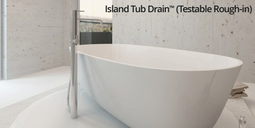 small resolution of island tub drain testable rough in