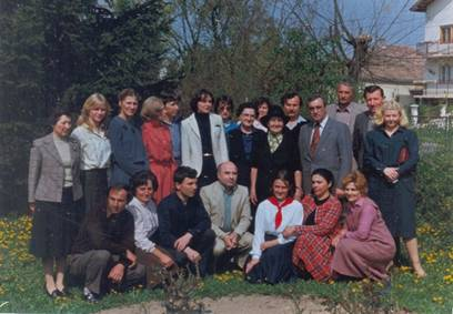 Са Десанком Максимовић 1985. године