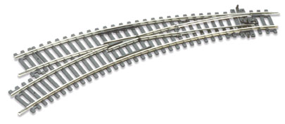 Peco ST-245 Setrack Curved Left Hand Point