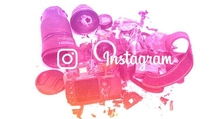 Cómo borrarse de Instagram