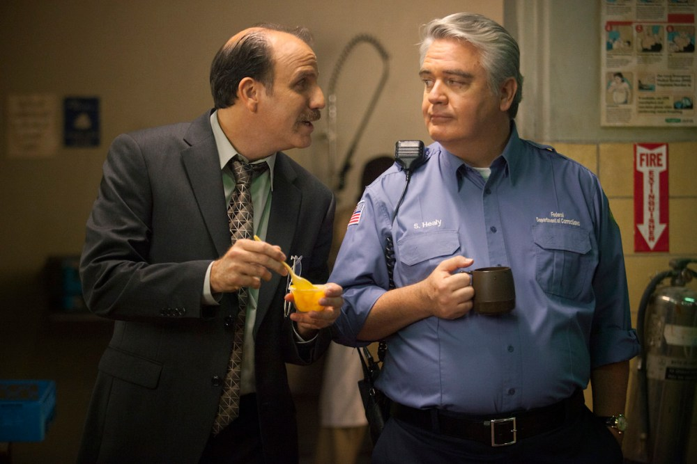 Nick Sandow ve Michael Harney