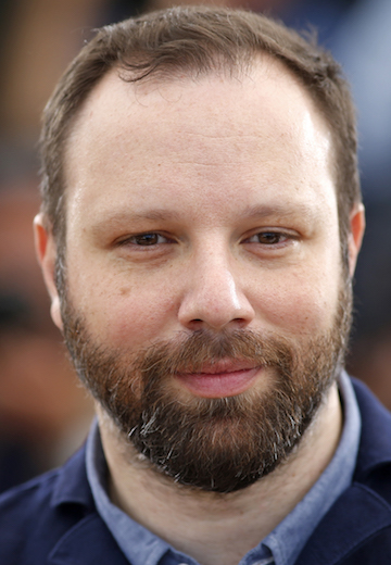 "Director Yorgos Lanthimos poses during a photocall for the film ""The Lobster"" in competition at the 68th Cannes Film Festival in Cannes"