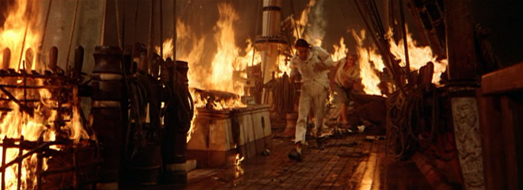 Image result for mutiny on the bounty 1962 fire