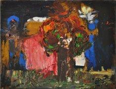 BAOBAB, Acrilico su tela, cm.32x41, 2014