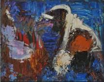 MAGMA, Acrylic on canvas, cm.40x50, 2016