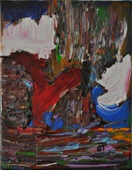 NATURA, Acrilico su tela, cm.24x18, 2015