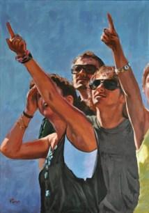 Risposta surrazionale, Acrylic on canvas, cm.100x70, 2011 ■