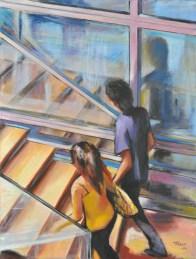 UP, Acrylic on canvas, cm.80x60, 2010