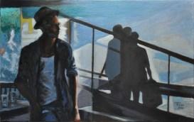 GOODBYE, Acrylic on canvas, cm.50x80, 2010 ■