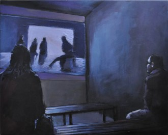 PROIEZIONI, Acrylic on canvas, cm.40x50, 2016