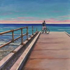DREAM UP, Acrylic on canvas cm.70x70, 2020