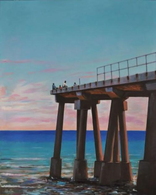 IMAGINE, Acrylic on canvas cm.100x80, 2020