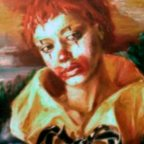 PENSIERO LONTANO - Oil on canvas, cm 70x50 - 1975 ■