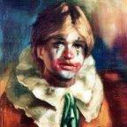 UN AMICO, Oil on canvas, cm 50×40, 1977 ■
