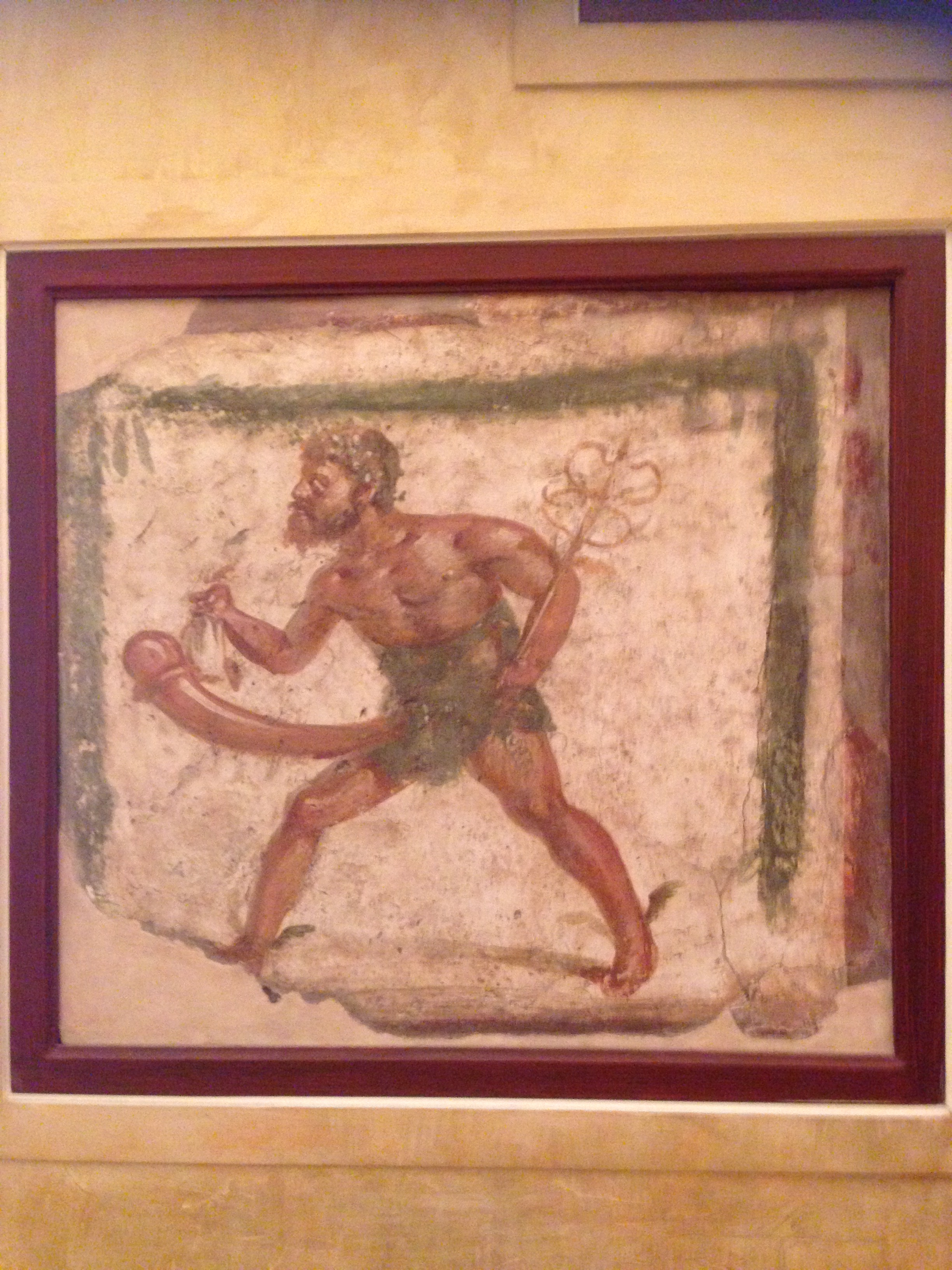 Gay history in the Naples Archaeological Museum