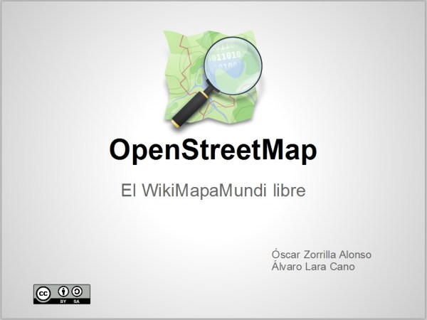 presentacion jornada OpenStreetMap