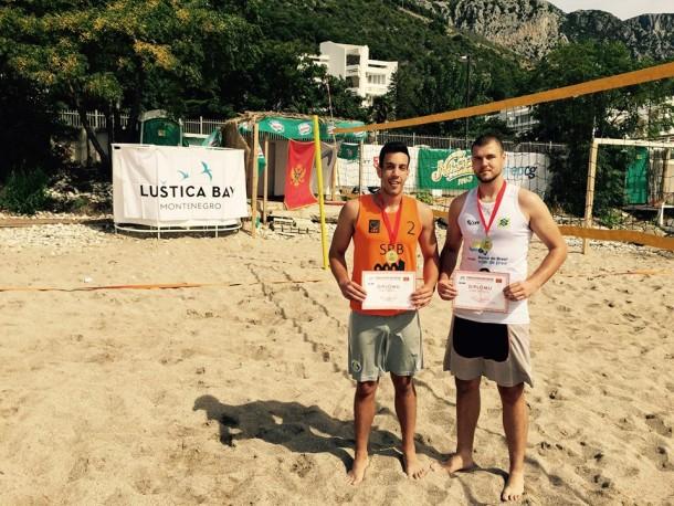 Pobjednici: Miloš Tatar i Goran Bošković