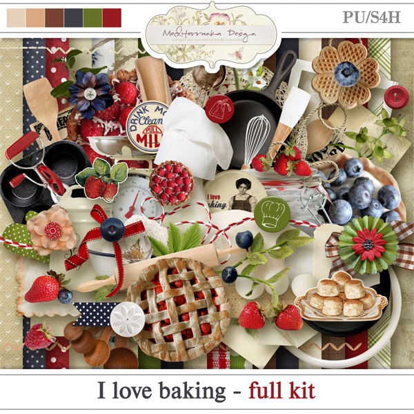 I love baking kit by meditaerranka design