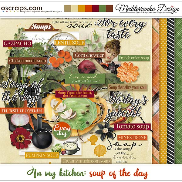 In my kitchen: soup of the day by meditaerranka design