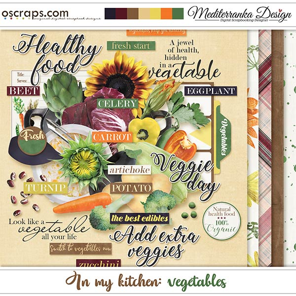In my kitchen: vegetables by meditaerranka design