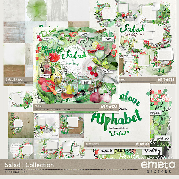 Salad kit by Emeto designs