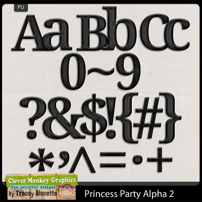 Magical Princess Party 2 Alpha from Clever Monkey Graphics
