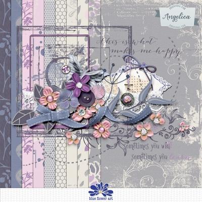 Angelica from Blue Flower Art