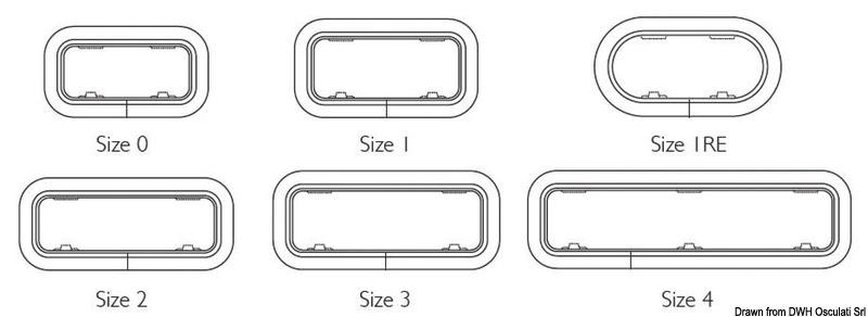 LEWMAR Standard portlight