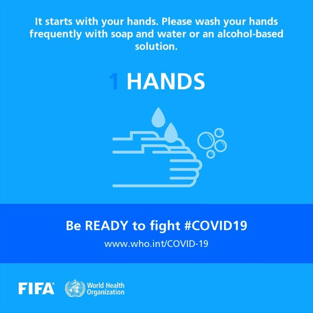 FIFA And World Health Organization Selects Top Football Players To Help Fight COVID-19