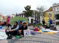 Protesto junta dezenas contra as restrições nos acessos à Arrábida