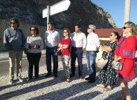 Deputados do PS e PSD criticam cancelas da Arrábida