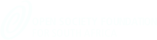 Open Society Foundation for South Africa Logo