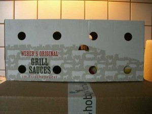 Verpackung Weber Grill Saucen