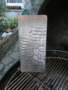 Smoking Board von Unten nach Gebrauch