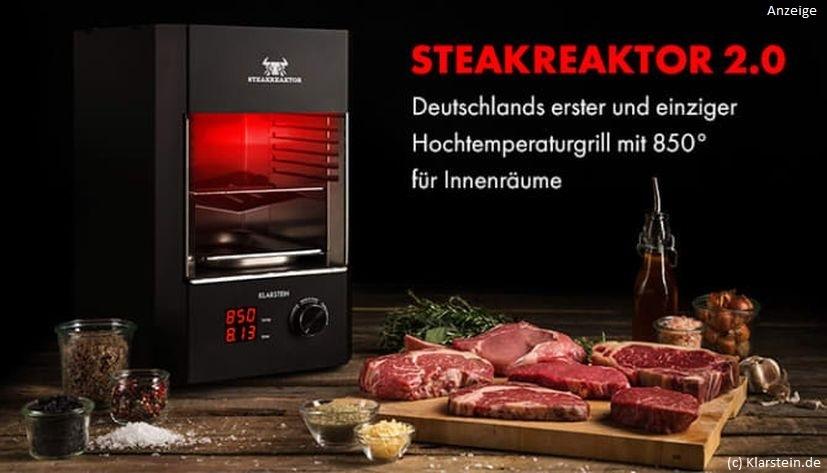 Klarstein-Steakreaktor-Anzeige