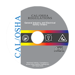 CAL/OSHA General Industry Regulations on CD