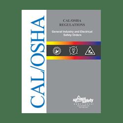 CAL/OSHA General Industry Regulations Book