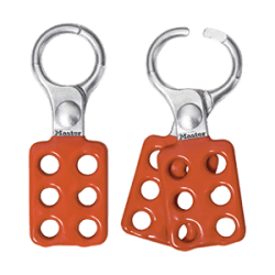Spark Resistant Aluminum Hasp for up to 6 locks
