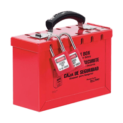Portable Red Group Lock Box – Latch Tight