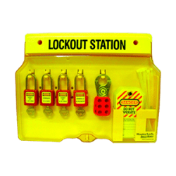 4-Lock Lockout Station